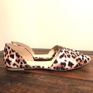 Wild Diva | D'Orsay Cheetah Print Flats